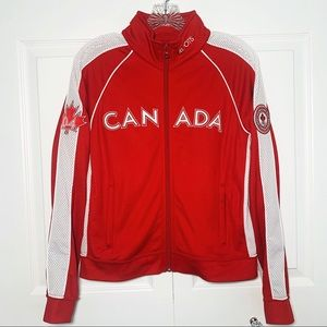 Roots 2004 Summer Olympic Team Canada Zip Jacket